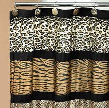 Popular Bath Shower Curtain, Jezella Collection, Animal Print