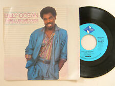 Billy Ocean soul 45 w/ps THERE'LL BE SAD SONGS / SAME SONG~Jive VG++ TO M-