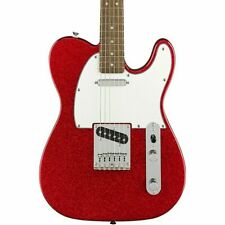 Squier Limited Edition Bullet Telecaster Electric Guitar Red Sparkle