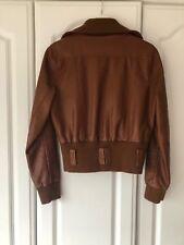 Lether Look Jacket Brown Tan 12