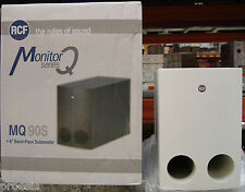 RCF MQ90S-W diffusor weiß subwoofer -band pass 60W RMS 16 Ω 130.00.098