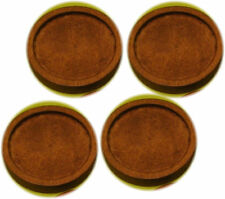 8pcs 25mm inner Antique Wooden Wood Cameo Cabochon Base Setting / Tray / Bezel