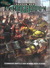 WARHAMMER 40000 40k - SHADOW WAR ARMAGEDDON Livre de Règles