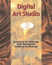 Digital Art Studio: Techniques for Combining Inkjet Printing with Traditional Ar