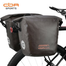 CBR 100% Waterproof Bike Panniers Bicycle Bag Rear Seat Storage Bag 18L