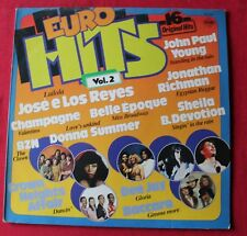 Euro Hits vol 2, sheila donna summer baccara champagne ect ..., LP - 33 Tours