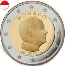 Pièce de 2 euro Monaco 2014.