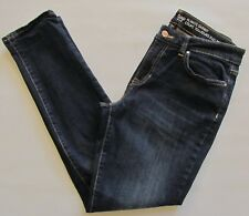 Gap Always Skinny Jeans Size 29 8 R Rinsed Dark Blue Stretch Denim Mid Rise