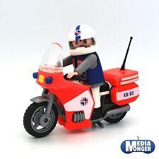 Playmobil ® hôpital samu | médecin | infirmier sur moto 3924 NOUVEAU & OVP
