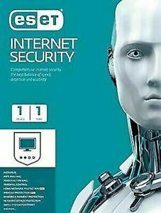 ESET NOD32 INTERNET SECURITY 2020 (1 PC /1YR)