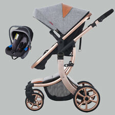 Baby Carriage Car Seat Cover 3 in 1 Stroller Travel System Pushchair Foldable ZB