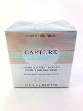 CHRISTIAN DIOR CAPTURE R60/80 Ultimate Wrinkle Cream 1.7oz LIGHT-Texture (BK16