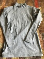 Under Armour Youth Large Gray Longsleeve Shirt