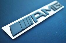 3D AMG Car Logo Badge Trunk Rear Decal Sticker For Mercedes Benz SL GL ML GLA