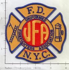 New York City - NYC Fire Dept UFA Fire Dept Patch