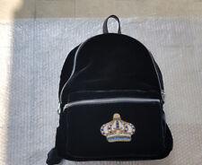 fc367468d0 Zaino Rock 'n' Royalty Versace Nero nuovo Velluto Versace Bagpack black