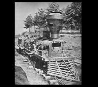 The General PHOTO, GREAT LOCOMOTIVE CHASE,1862,Civil War Confederate Rebel Train