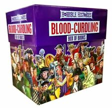 Horrible Histories 20 Books in Box Set Collection NEW, Awesome Egyptians