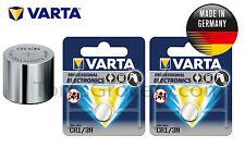 2 x VARTA Professional Lithium CR1/3N 2L76 K58L 6131 CR11108 Battery 3V EXP:2025