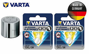 2 x VARTA Professional Lithium CR1/3N 2L76 K58L 6131 CR11108 Battery 3V