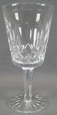 Set of 6 Signed Waterford Lismore Pattern Cut Crystal Water Goblets