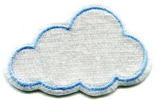 Cloud Rain Weather Embroidered Applique Iron-on Patch S-1425