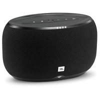 JBL - LINK 300 Wireless Speaker with Google Assistant - Black