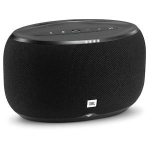 JBL - LINK 300 Wireless Speaker with Google Assistant - Black