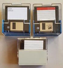 34 Floppy Disk da 3.5 pollici Neri Varie MARCHE 1.44 MB con BOX