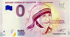 MALTE Mother Teresa  of Calcutta, 2019, Billet 0 € Souvenir