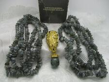 Marvelous JOSE BARRERA Venetian Mist Swirled Gold Design Green Dangle Brooch Pin Clip Earrings Vintage Avon Women/'s Costume Jewelry Set EUC