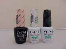 OPI Gelcolor - Bubble Bath S86, Healthy Nail Top & Base Coat FREE SHIPPING