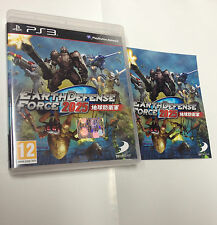 EARTH DEFENSE FORCE 2025  PS3   USATO FUNZIONANTE