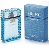 100ml Versace Man Eau fraiche Eau de toilette Perfume Hombre 3.3 oz