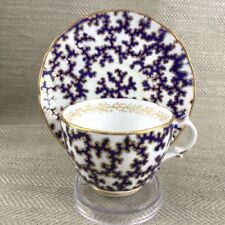 Unboxed Victorian Date-Lined Ceramic Cups & Saucers