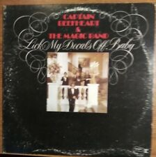 Captain Beefheart & The Magic Band-Lick My Decals Off, Baby RS 6420-1973 NM-