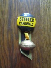 """Old Vintage 1944 Pittsburgh Steelers/Chicago Cardinals 1&1/4"""" Football Pin"""