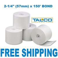 """TRITON ATM 2-3//8/"""" x 760/' THERMAL RECEIPT PAPER 32 ROLLS ~FAST FREE SHIPPING~"""