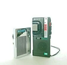 New listing Sony Am Handheld Radio and Microcassette Recorder for Repairs