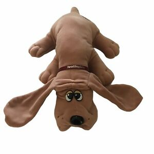 1985 Pound Puppies Tonka Large Tan Dog Plush Puppy Toy 18 Inch Stuffed VTG Brown