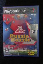 PS2 : JETIX PUZZLE BUZZLE - Nuovo, sigillato, ITA ! 4 Modalità di gioco bonus !