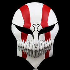 Bleach Ichigo Kurosaki Mask Bankai Hollow Cosplay Full Masque Updated Mask Red