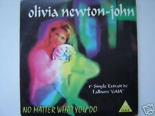 OLIVIA NEWTON JOHN no matter what CD SINGLE france / french card sleeve NEUF NEW