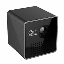 Mini Portable Pocket Multimedia Projector DLP P1 HD 1080p With Airplay WiFi