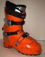Scarpa Laser AT Tech Ski Boots Size 26.5 / US men's 8.5  Orange