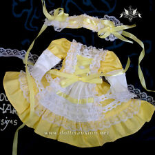1/6 BJD Dress Tiny YOSD Maid Dress set Dollfie SOOM MID DOD AOD skirt Clothing