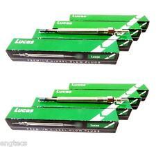 8x LUCAS DIESEL GLÜHKERZE W211 E400 S400 E 400 CDI W463 G 400 CDI W220 S 400 CDI