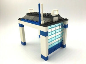 Lego® Rolltor Garage blau weiss Sektionaltor - Polizei - City Basic