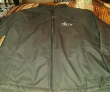 """*PING Men's Black Full Zip Jacket Golf Polyester Soft Says """"Star"""" on chest Large"""