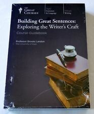 NEW DVD: The Great Courses: Building Great Sentences: Exploring Writer's Craft